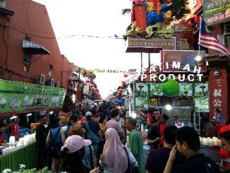 Jonker Street Night Market in Melaka