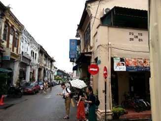 Love Lane in George Town, Penang Island