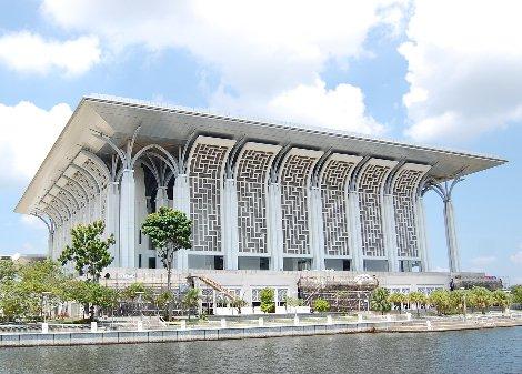 Masjid Tuanku Mizan Zainal Abidin is also known as the Iron Mosque
